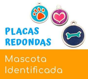 placas-identificativas para perros y gatos redondas